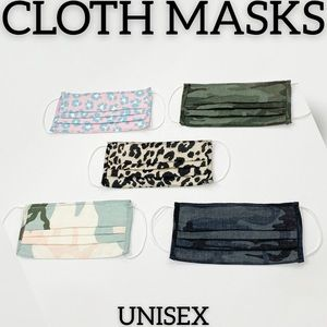 Accessories - New Cloth Masks Unisex Prints